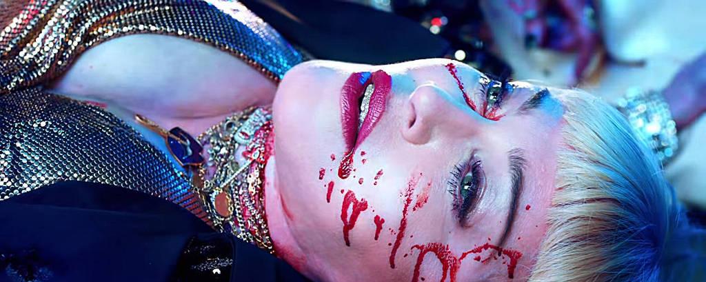 Cena do clipe da canção 'God Control', de Madonna