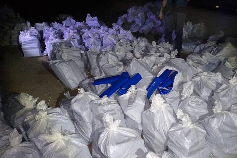 PM apreende mais de 4 toneladas de maconha na Grande SP