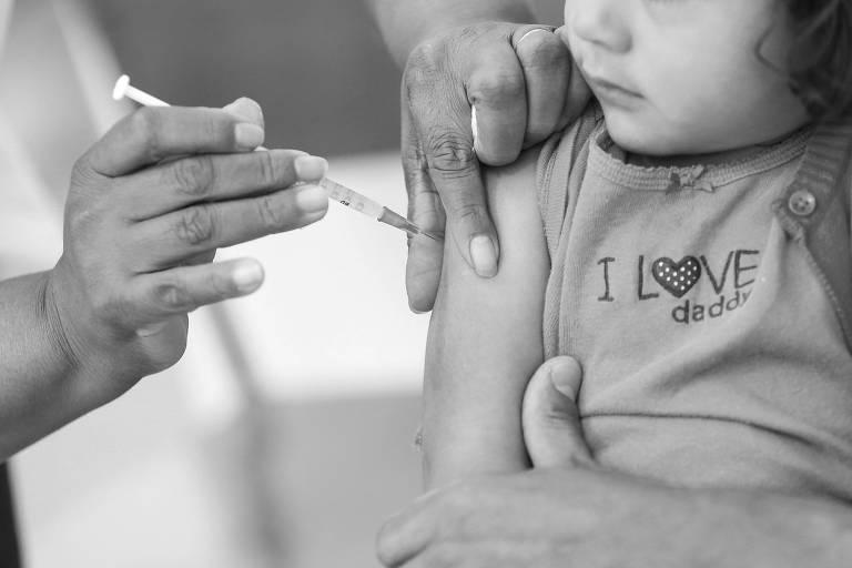 7 das 8 principais vacinas recomendadas a bebês apresentam cobertura abaixo da meta