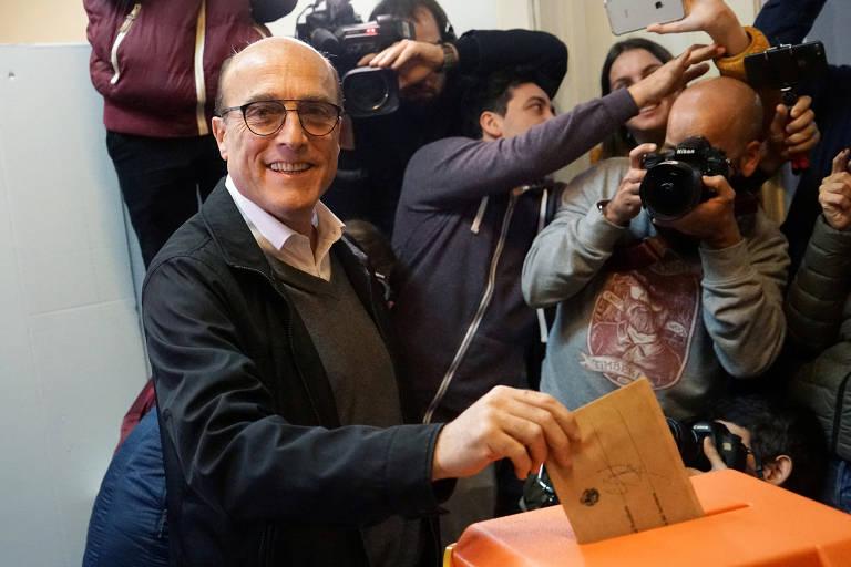 Candidatos à presidência do Uruguai