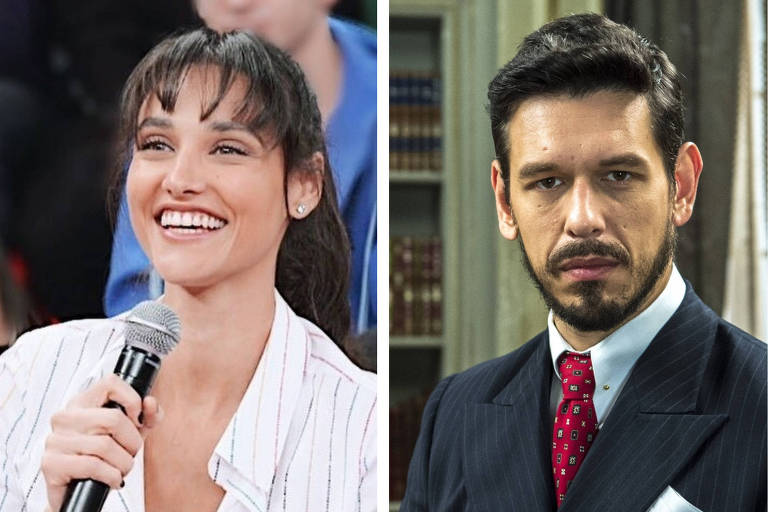 Montagem Débora Nascimento e João Vicente de Castro