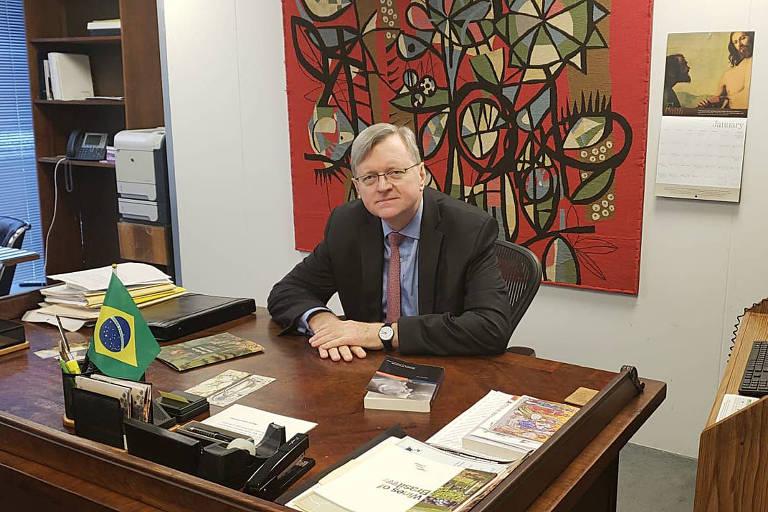 O encarregado de negócios na embaixada brasileira em Washington, Nestor Forster