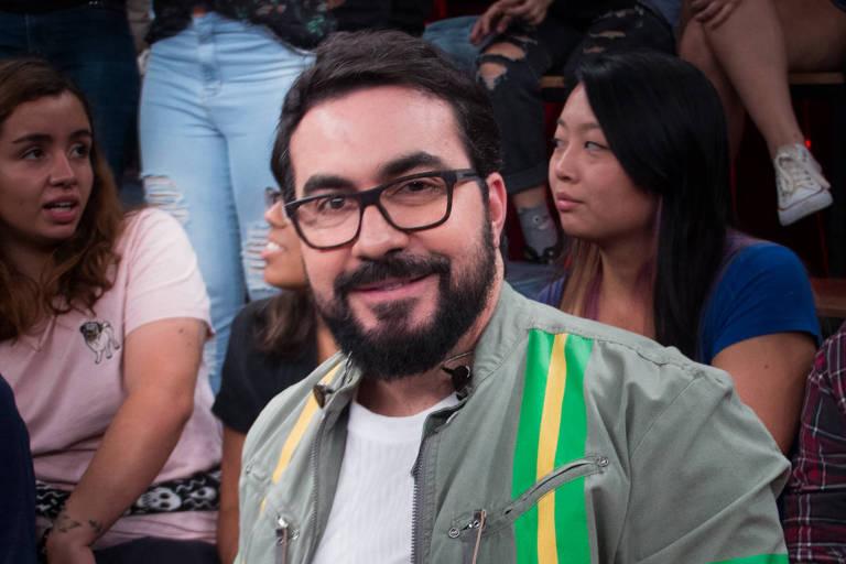 Padre Fábio de Melo no programa Altas Horas, da Globo