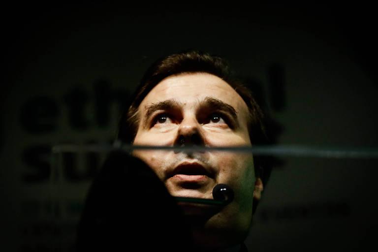 Rodrigo Maia, presidente da Câmara dos Deputados, durante o evento Ethanol Summit