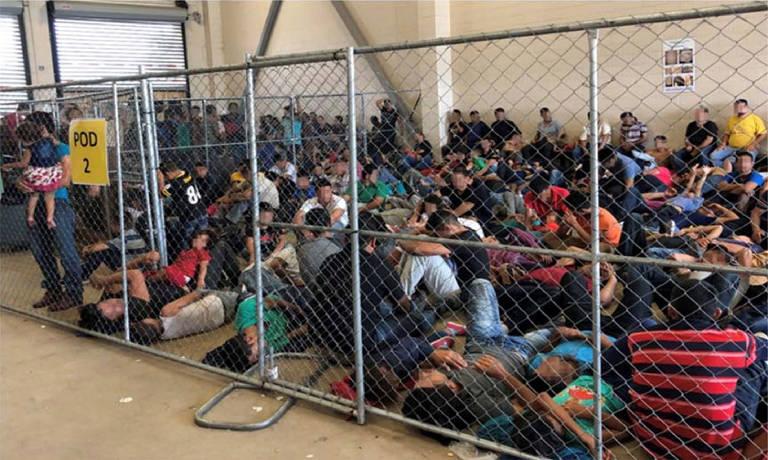 Centros de detenção de imigrantes no Texas
