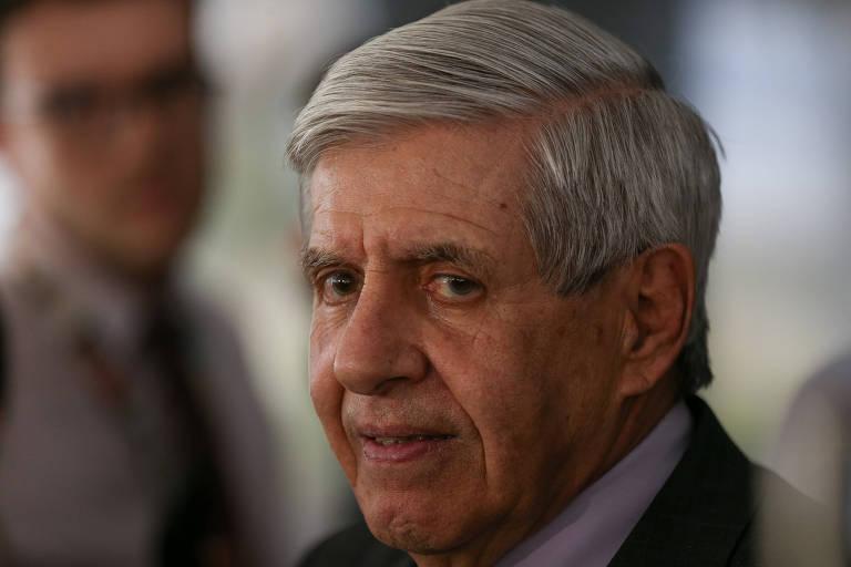 O general Augusto Heleno, ministro chefe do GSI