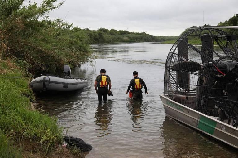 Buscas por criança brasileira desaparecida em rio entre México e EUA em julho de 2019