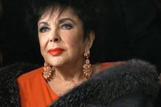 File photo of Elizabeth Taylor in Los Angeles