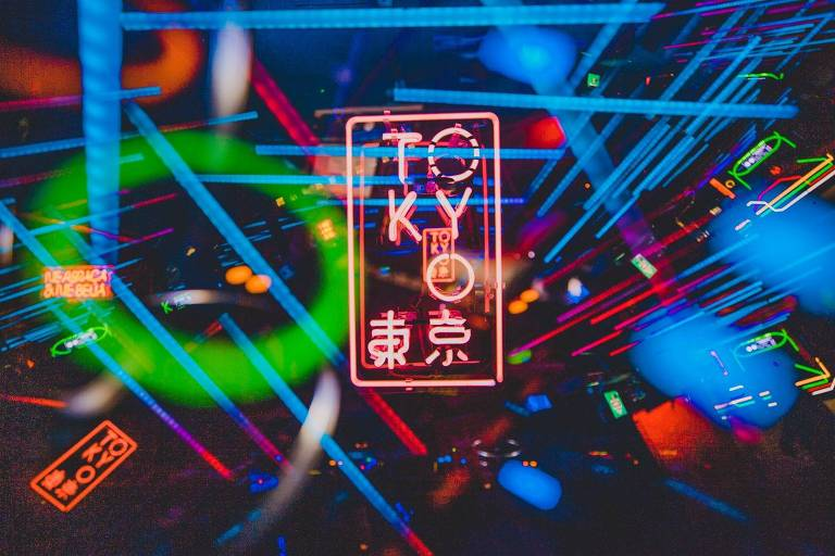 Lugares luminosos para postar no Instagram