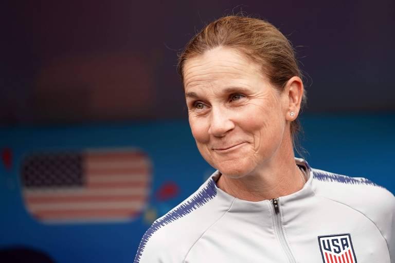 Jill Ellis, 52, treinadora dos Estados Unidos