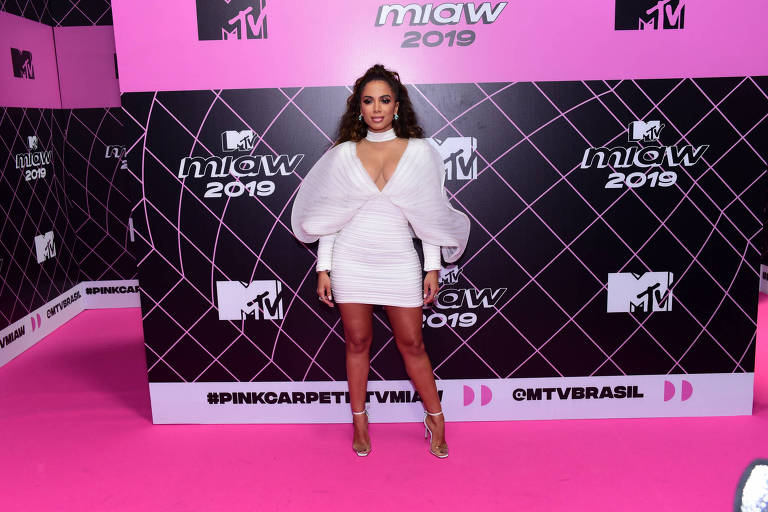 Anitta no MTV MIAW