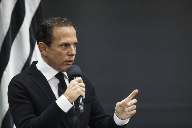 O governador João Doria (PSDB)