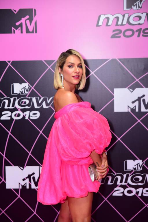 Pink carpet no MTV Miaw 2019