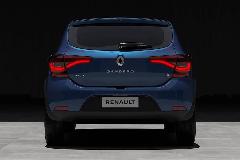 Renault divulga fotos oficiais do Sandero reestilizado