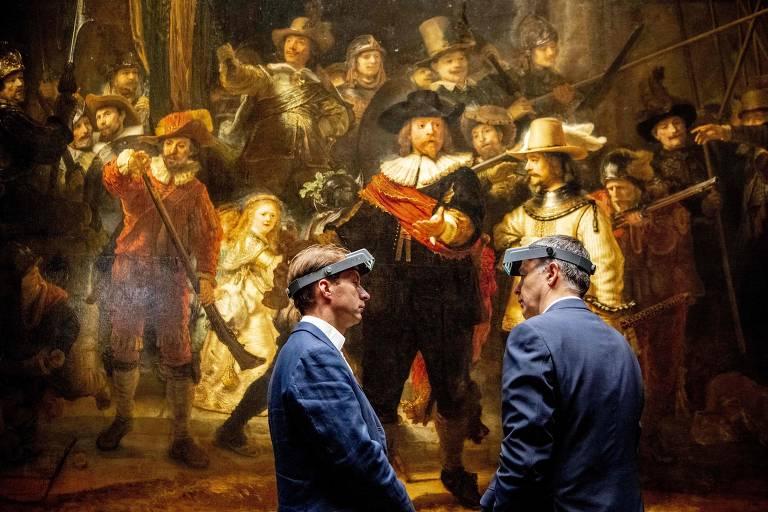 Veja o quadro de Rembrandt que passa por processo de restauração