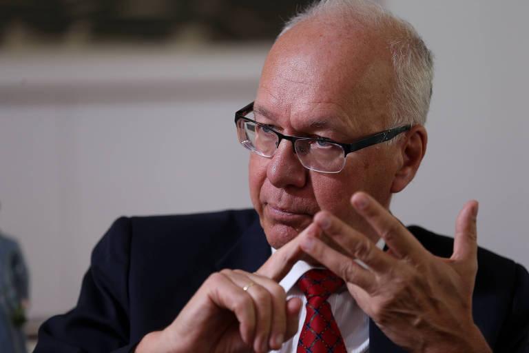 Embaixador da Alemanha, Georg Witschel, em entrevista à Folha
