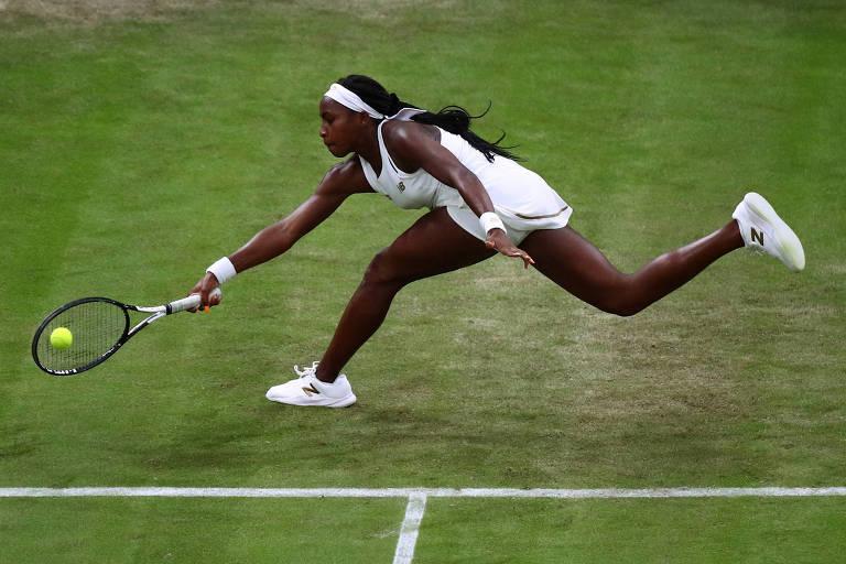 Cori Gauff, tenista americana de 15 anos que é destaque em Wimbledon