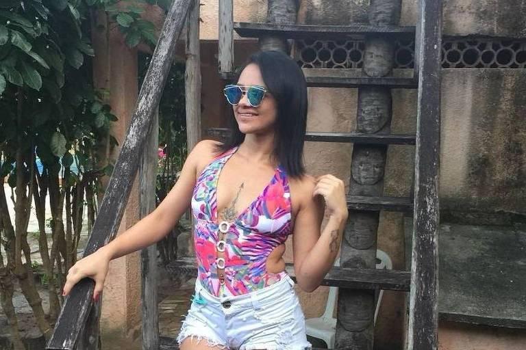 Gabriela Amorim, dançarina da banda Sala de Reboco, morta em ação policial em Irecê na Bahia
