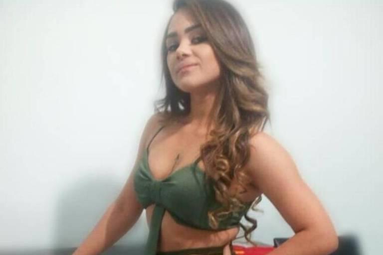 Gabriela Amorim, dançarina da banda Sala de Reboco, morta em ação policial em Irecê, na Bahia