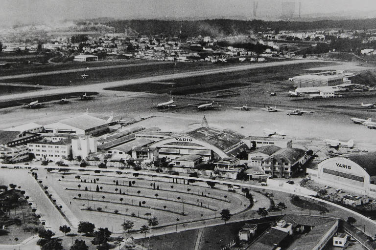 Os 60 anos da ponte aérea Rio-SP