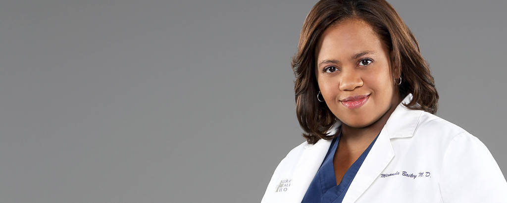 Chandra Wilson como a médica Miranda Bailey da série