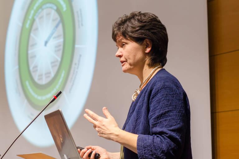A professora da Universidade de Oxford Kate Raworth