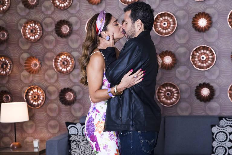 Marcos Palmeira e Juliana Paes na novela A Donda do Pedaço