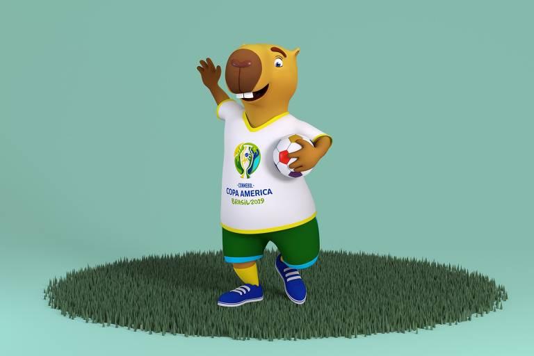 Zizito, a mascote da Copa América