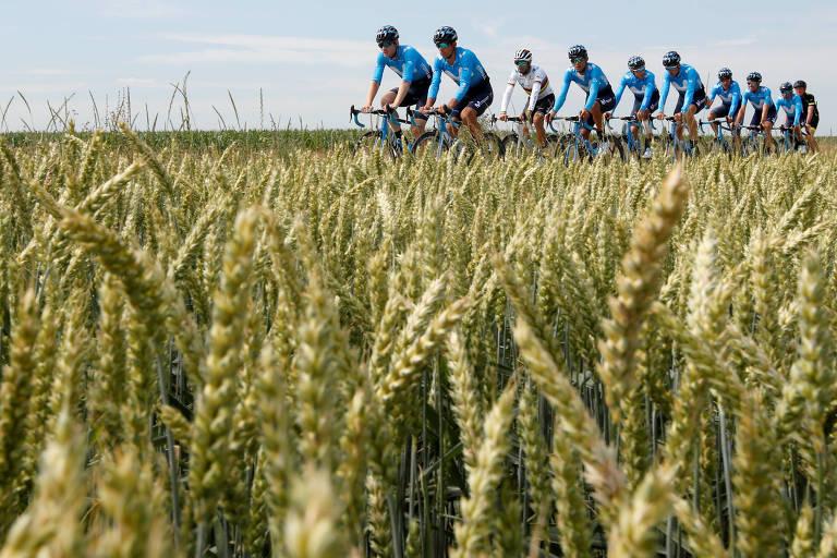 Tour de France anima locais em raro começo sem favorito