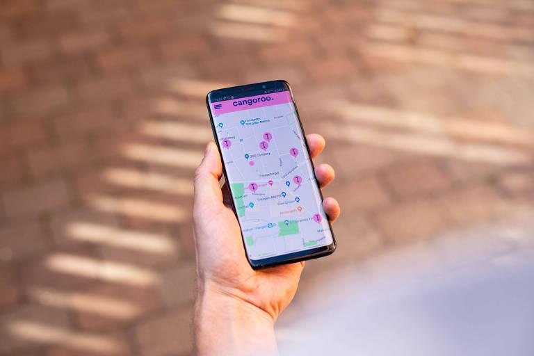 Cangooro, startup de compartilhamento de pula-pulas