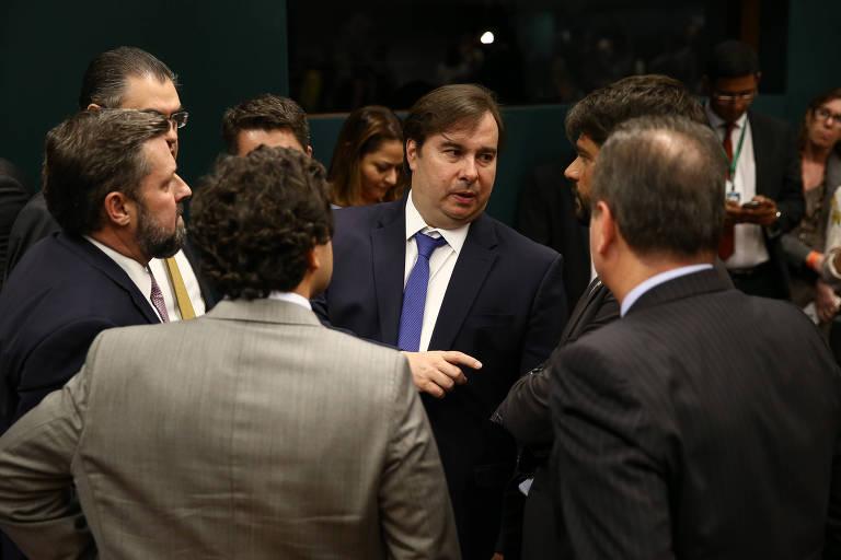 Presidente da Câmara dos Deputados, Rodrigo Maia (DEM-RJ)