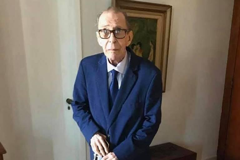 O musico, cantor e compositor João Gilberto