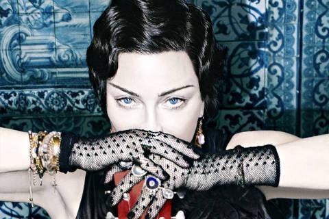 Fotos de Madonna para divulgação de Madame X