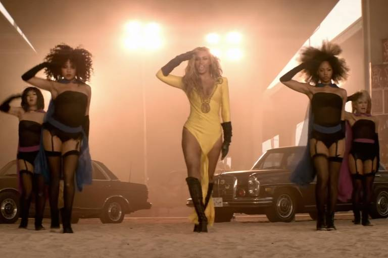 "Beyoncé no clipe de ""Run the World (Girls"""
