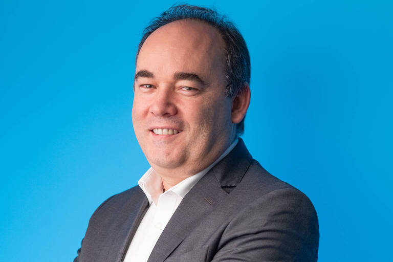 Retrato de Eduardo Ricotta, presidente da Ericsson