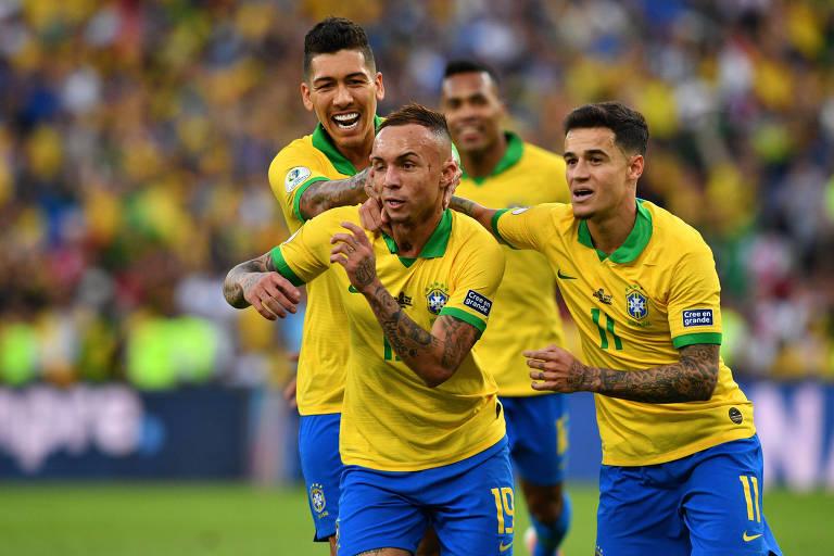 Na final, no Maracanã, o Brasil bateu o Peru por 3 a 1, com gols de Everton, Gabriel Jesus e Richarlison. Guerrero descontou de pênalti