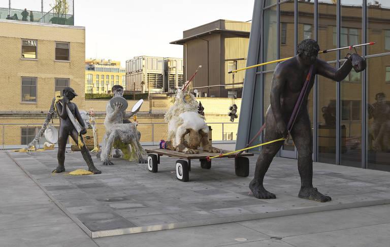 Obras em exibição na 79ª Bienal do Whitney, em Nova York