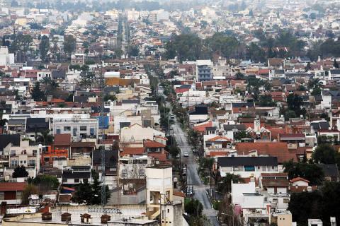 ARGENTINA , Junho 2017  La Matanza nao e un bairro é un distrito (partido) de la Provincia de Buenos Aires o maior e mais populoso dos que componen o GBA (Grande Buenos Aires). Credito Clarin