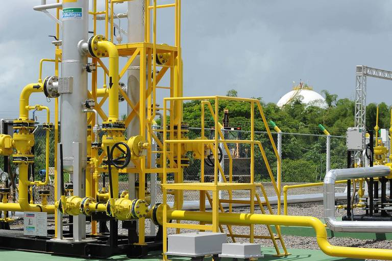 Terminal de gás da Petrobras instalado em Itabuna (BA)