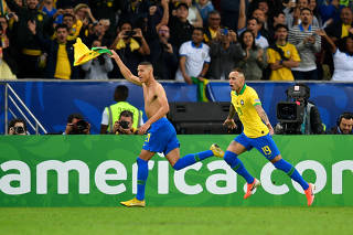 (SP)BRAZIL-RIO DE JANEIRO-FOOTBALL-COPA AMERICA 2019-FINAL-BRAZIL VS PERU