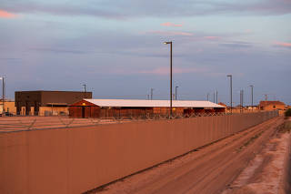 The Border Patrol facility that has become the public face of the chaos on America?s southern border, in Clint, Texas.