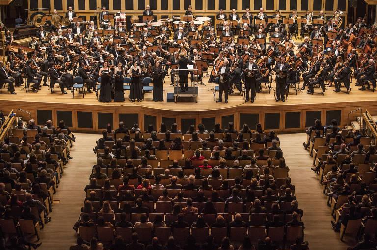 Veja imagens do concerto em comemoração aos 20 anos da Sala São Paulo