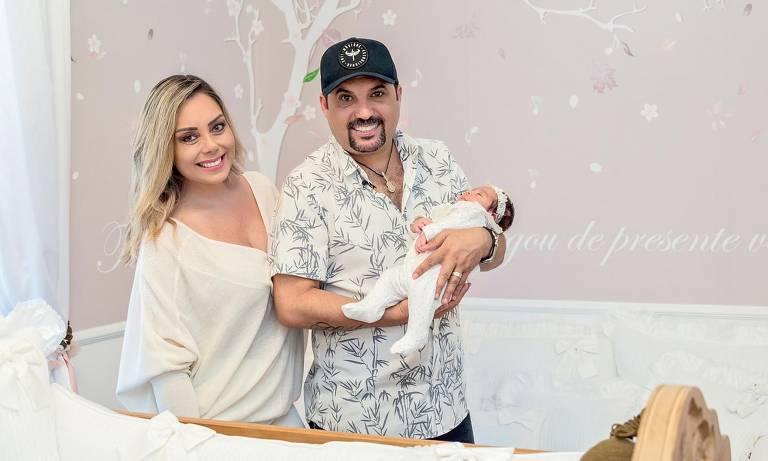 Edson, da dupla com Hudson, mostra quarto da pequena Bella, de apenas 2 meses