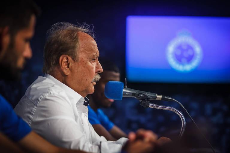 Wagner Pires de Sá, presidente do Cruzeiro