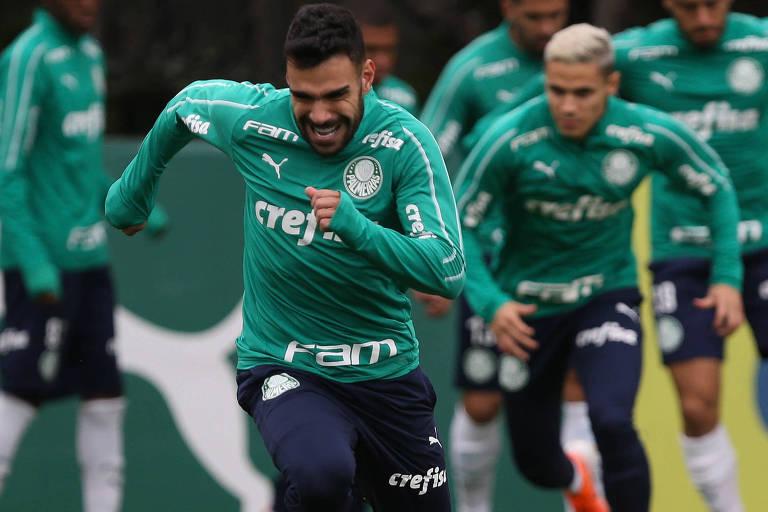 O volante Bruno Henrique é uma das armas do Palmeiras no duelo contra o Internacional, pelas quaras de final da Copa do Brasil
