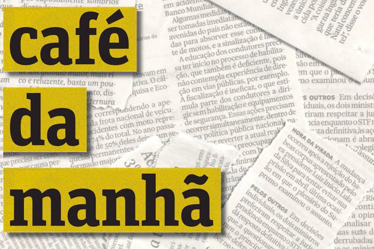 """Podcast da Folha """"café da manhã"""""""