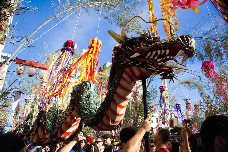 O 41º Tanabata Matsuri acontece na praça da Liberdade