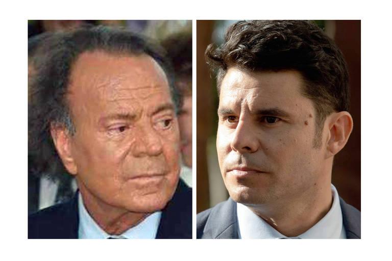 Um tribunal espanhol decidiu que o cantor Julio Iglesias, vencedor do Grammy, é o pai biológico de Javier Sanchez Santos, de 43 anos