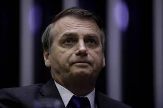 BRASIL-BRASILIA-BOLSONARO-CAMARA DE DIPUTADOS-REUNION