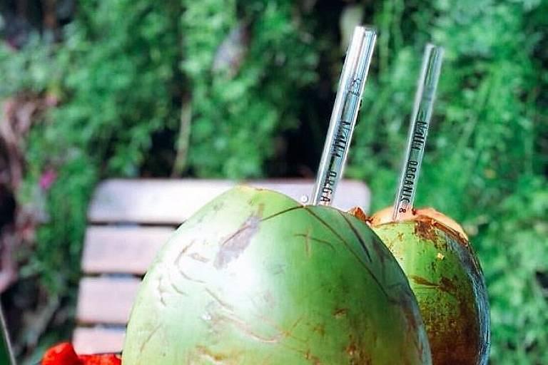 Nattu vende canudos de vidro a R$ 10